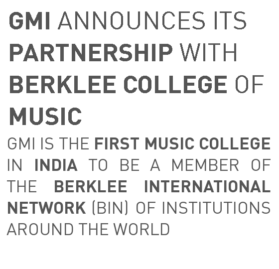 GMI announces its partnership with Berklee College of Music